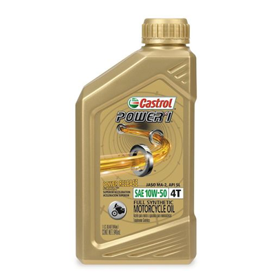 CASTROL POWER RS RACING 4T SAE 10W-50