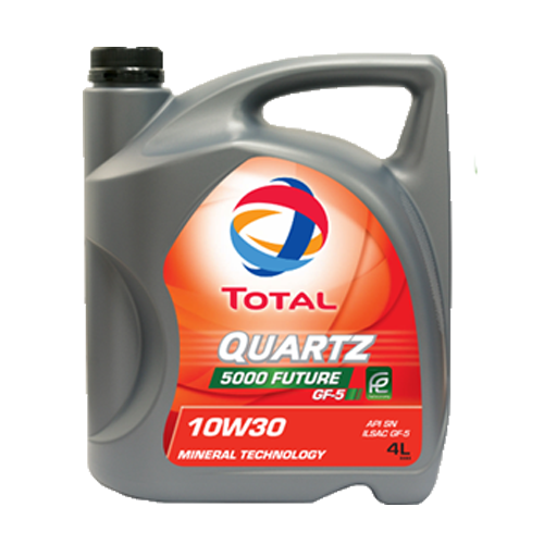 TOTAL QUARTZ 5000 FUTURE 10W-30 4LT